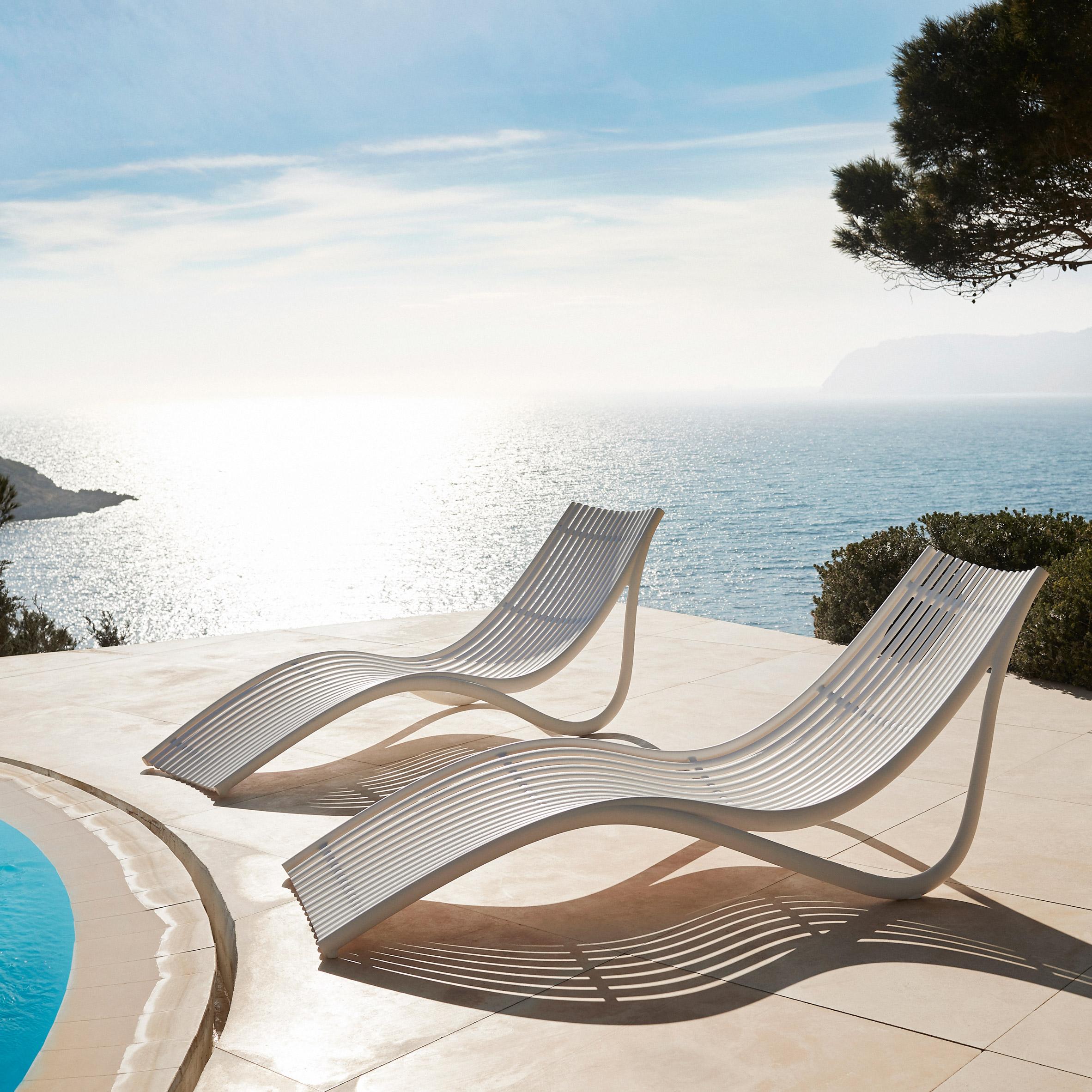 Ibiza lounger by Eugeni Quitllet for Vondom