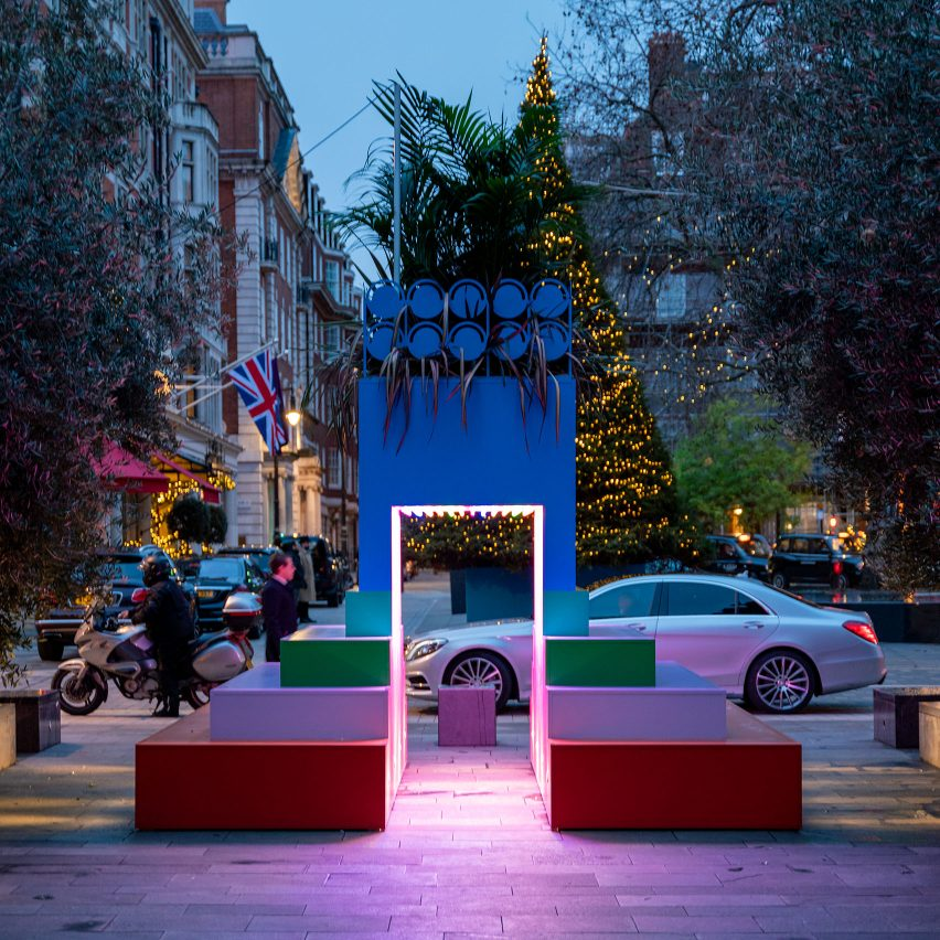 Wander Art Trail invites visitors to explore outdoor artworks in Mayfair and Belgravia