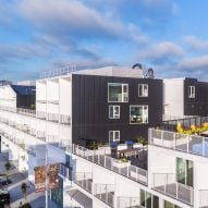 LOHA creates Westgate1515 student apartment complex in Los Angeles