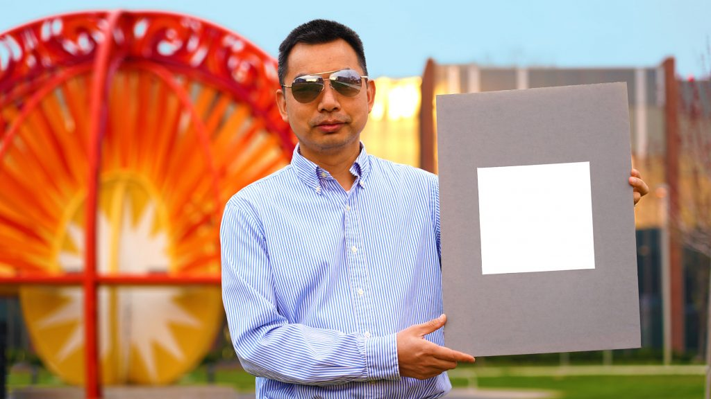 """""""Whitest paint on record"""" reflects 98 per cent of sunlight to cool buildings"""