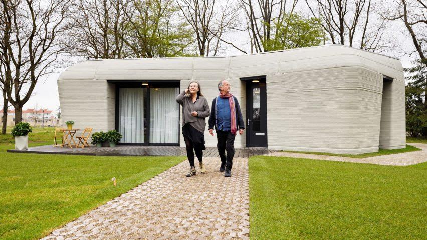 3D-printed home