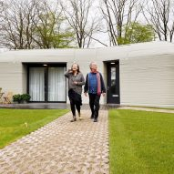This week the first tenants moved into a 3D-printed home