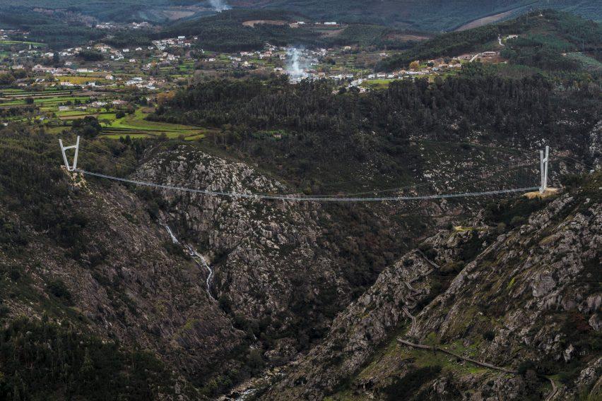 516 Arouca is a suspension bridge