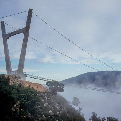 516 Arouca is the world's longest pedestrian suspension bridge