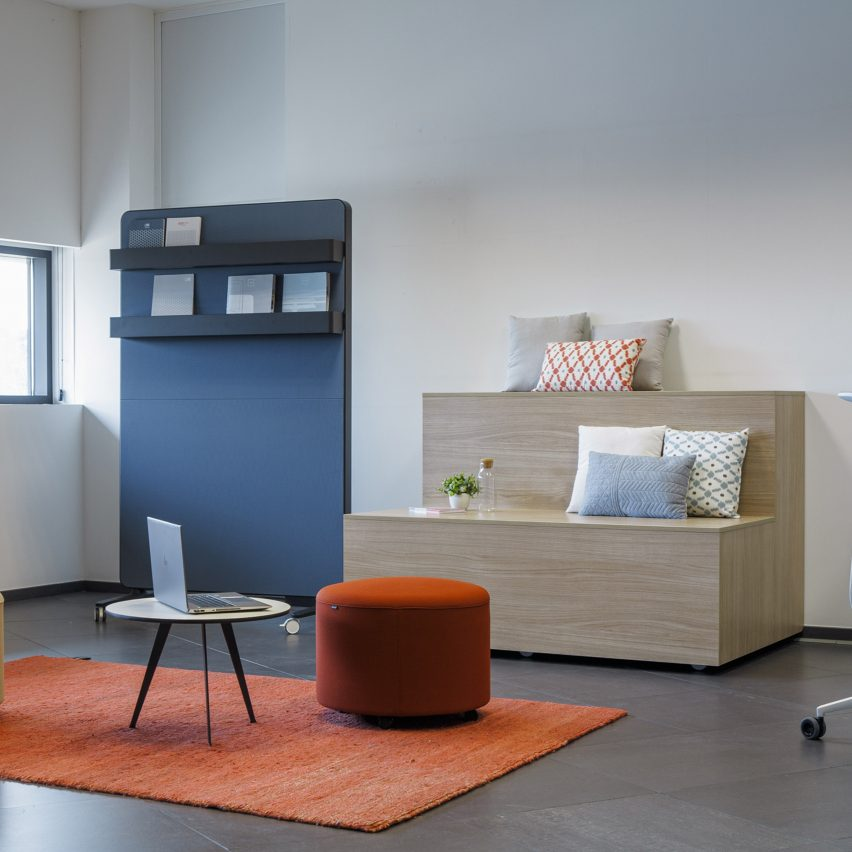 Agile workplace furniture collection by Actiu