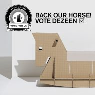 Back our horse! Last chance to vote for Dezeen to win a Webby Award