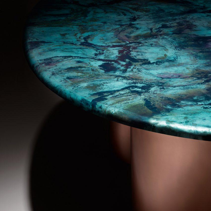 Baia table by Zanellato/Bortotto for De Castelli