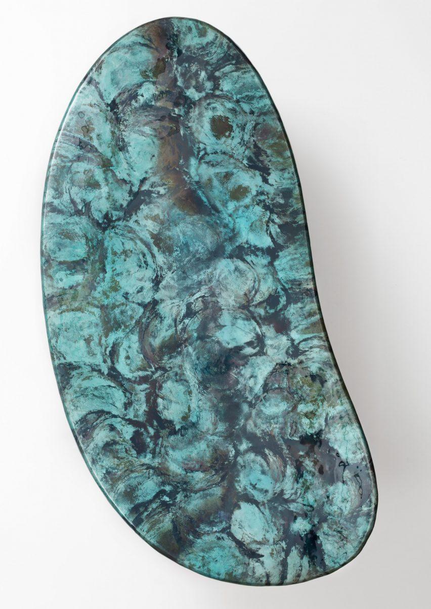 Top of coffee table inspired by Zanellato/Bortotto for De Castelli