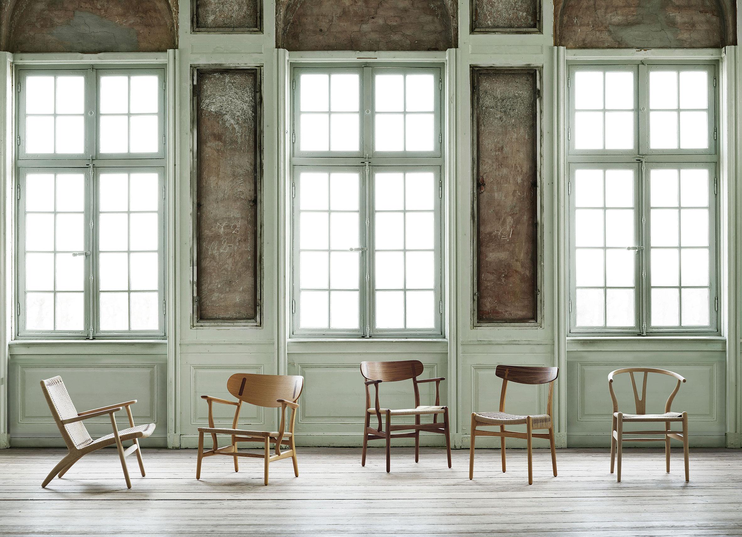 Carl Hansen & Son chairs