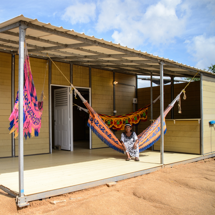 Colombian construction company creates affordable homes using coffee waste