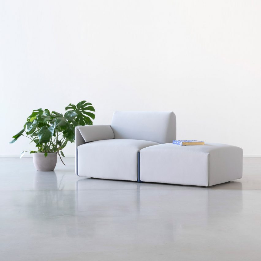 Costume sofa system by Stefan Diez for Magis