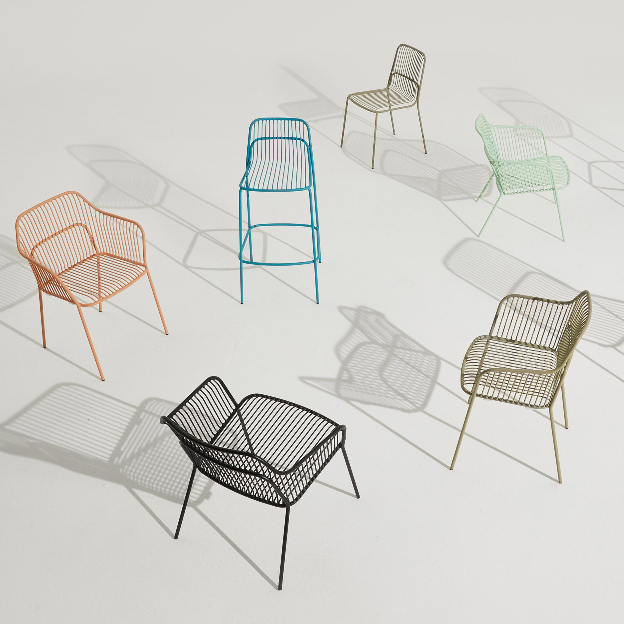 Crop outdoor seating by Benjamin Hubert for Allermuir