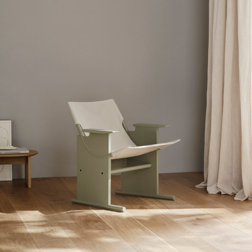 Sling Lounge Chair by Takt
