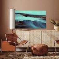 Doyeon Shin designs OLED television that unfurls like a flag