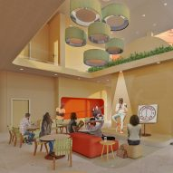 Ten interior architecture projects by undergraduate students at the Corcoran School of the Arts and Design