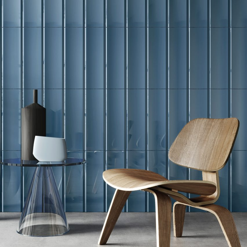 Blue tiles by Harmony and MUT Design
