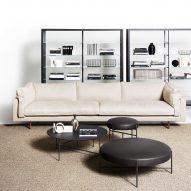 Square XL sofa by De Padova