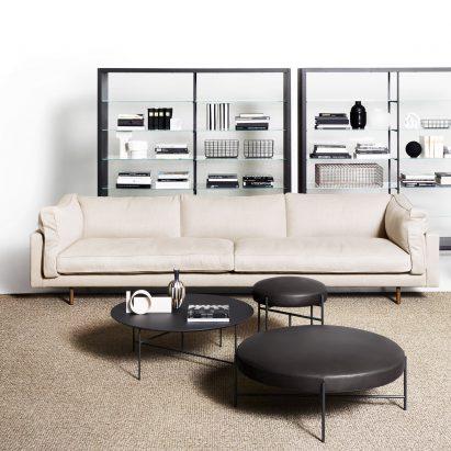 Square sofa by De Padova