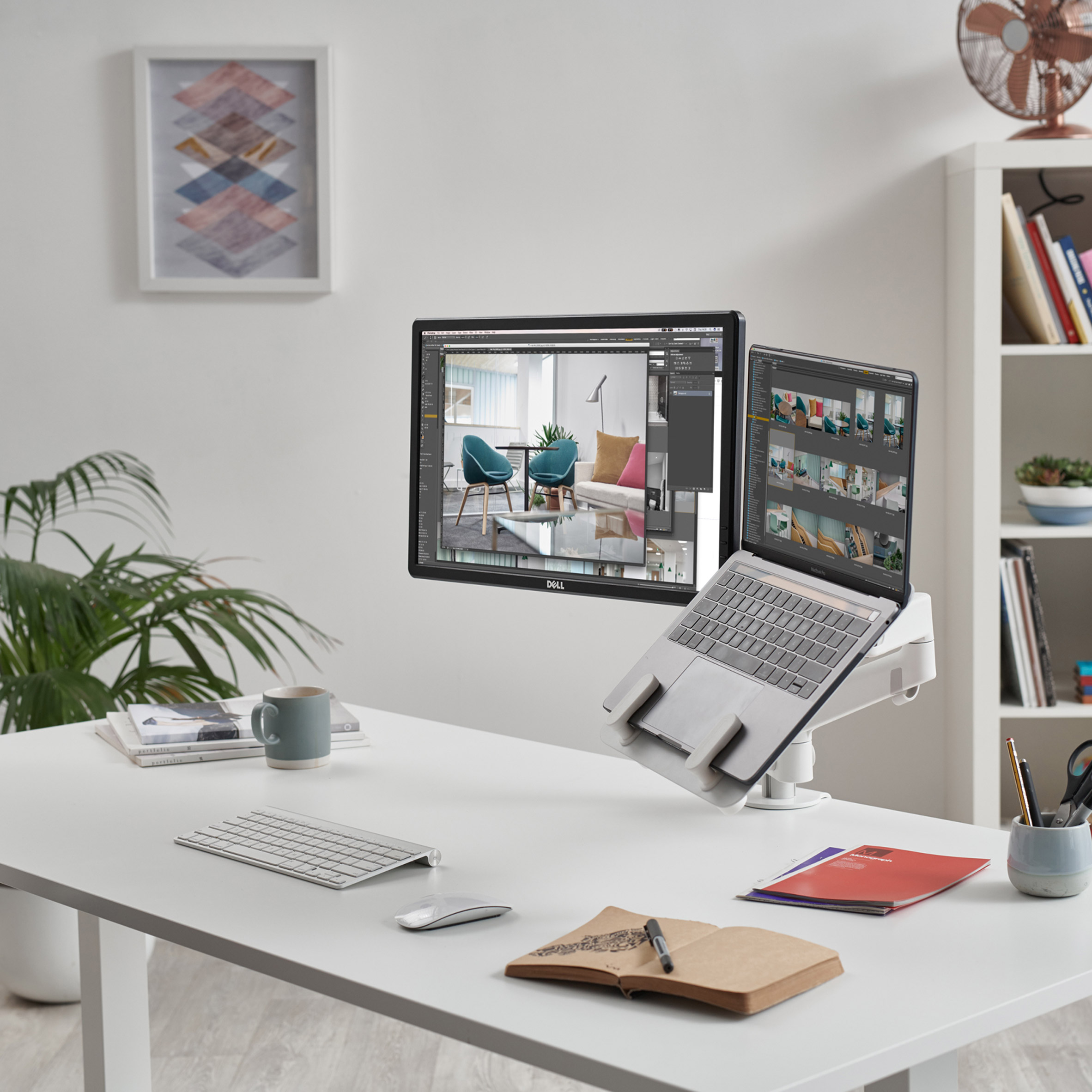 Lima Laptop Mount by Colebrook Bosson Saunders