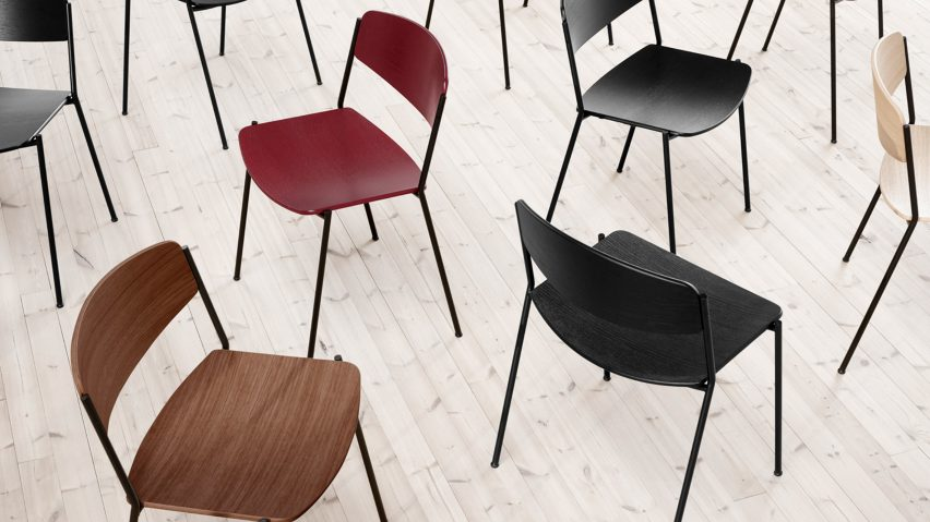 Lynderup chairs by Borge Mogensen for Fredericia
