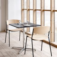 Cafe chairs in Danish Modern design