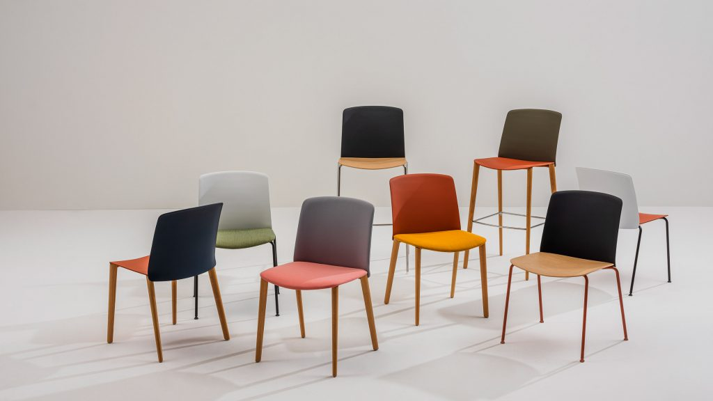 Arper launches colourful Mixu seating collection by Gensler | Tech News