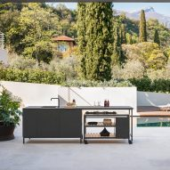 Norma outdoor kitchen by Rodolfo Dordoni for Roda among new products on Dezeen Showroom