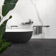 Geesa Shift 60-centimetre towel rail and bathroom accessories
