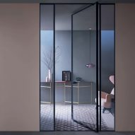 Shoin sliding system by Lualdi among new products on Dezeen Showroom
