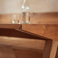 Bespoke oak furniture by VATRAA architects