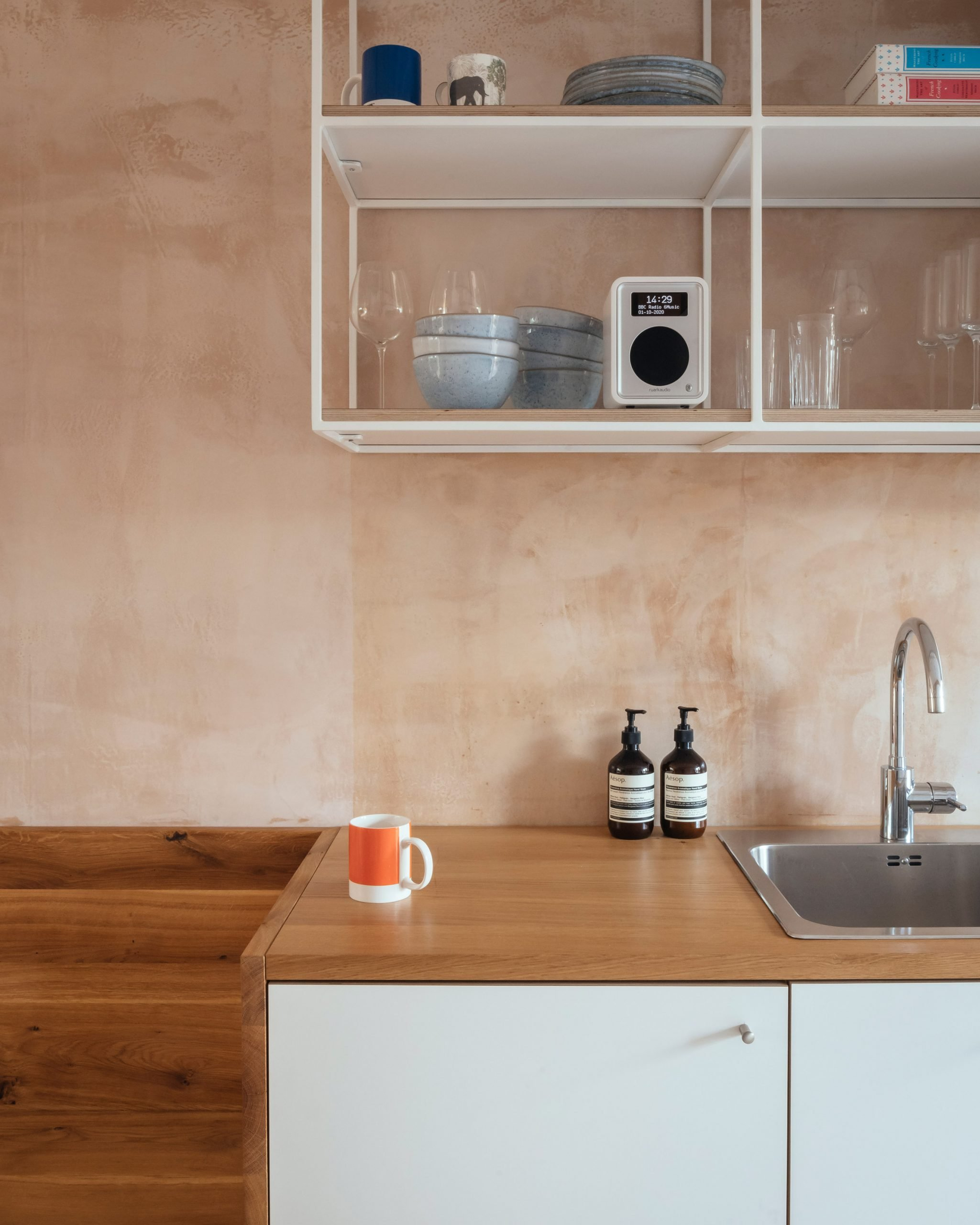 Kitchen sink in Council House Renovation