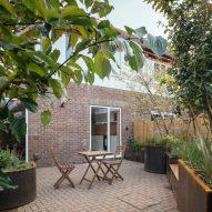 Back garden in London Council House Renovation