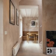 VATRAA adds pink plaster walls in south London council house renovation