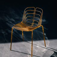 Wired chair by Michael Young for La Manufacture