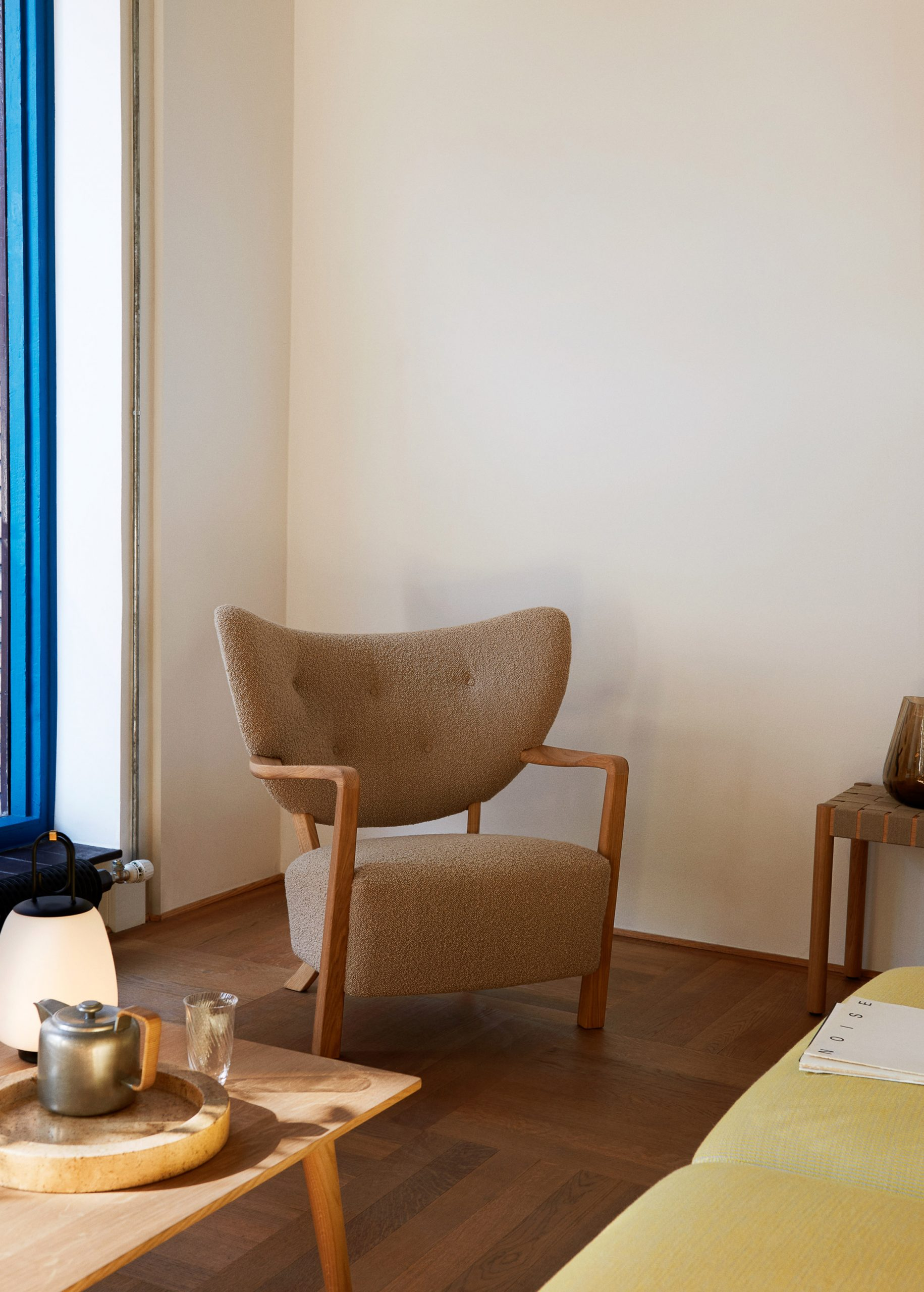 Wulff lounge chair in a living room