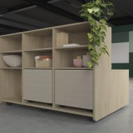 Agile Collection flexible workplace furniture by Actiu