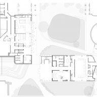 Ground floor plan of the university building