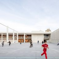 Image of the play space on the roof of the building