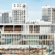 Glazed elevation of the Antoine de Ruffi School