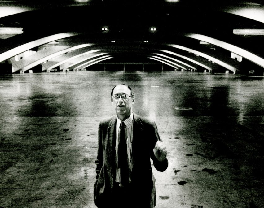 Historic photo of Art Gensler