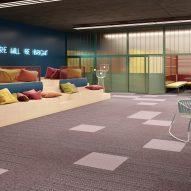 Art Intervention carpet tiles by IVC Commercial