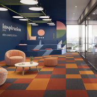 Art Intervention carpet tile collection by IVC Commercial