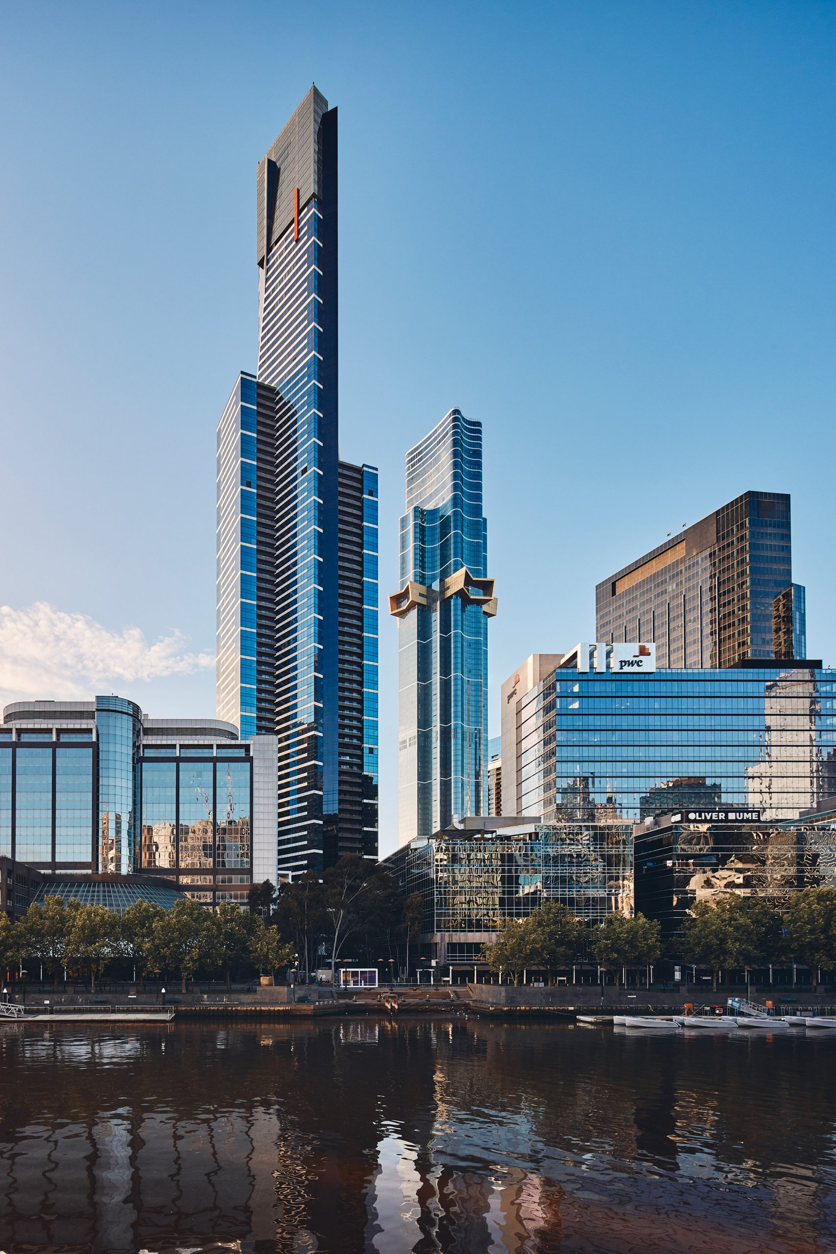 The star design was informed by the Australian flag by Fender Katsalidis