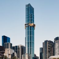 Southern hemisphere's tallest residential skyscraper punctuated by cantilevered golden star