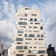 Top of Aya Tower in Beirut by SOA Architectes