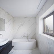 Bathroom in Aya Tower