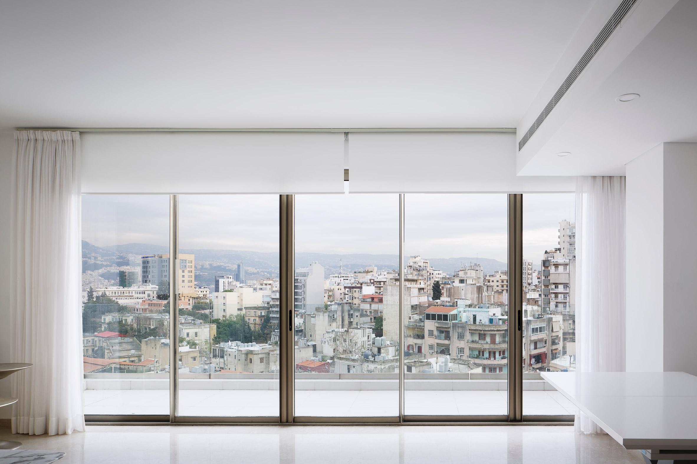Balcony in Aya Tower