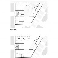 Aya Tower lower level floor plans