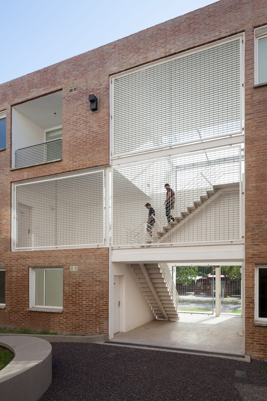 BBOA added stairwells with views