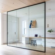 Ten interiors by architects that use internal glazing to create a sense of space and light